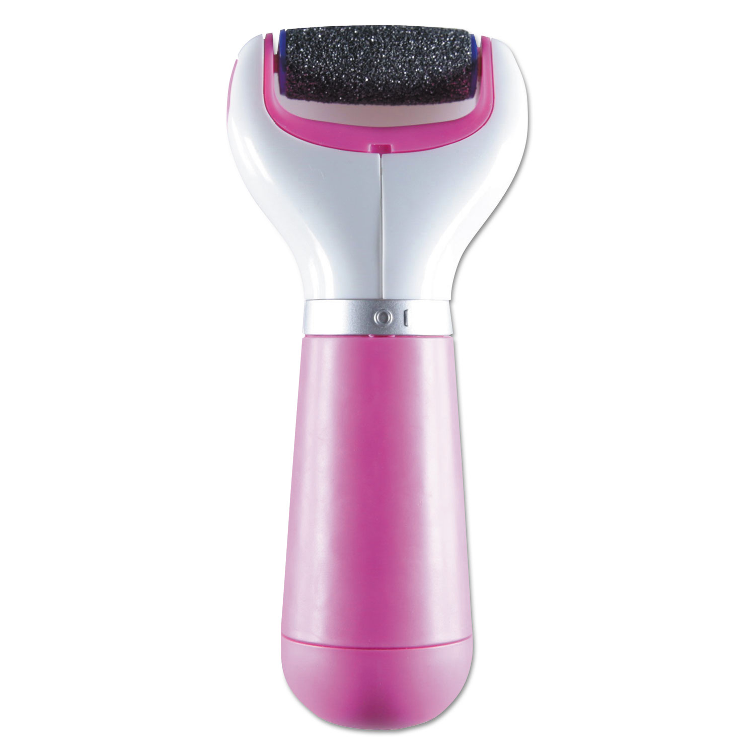 Pedi Perfect Extra Coarse Electronic Foot File, Pink/White