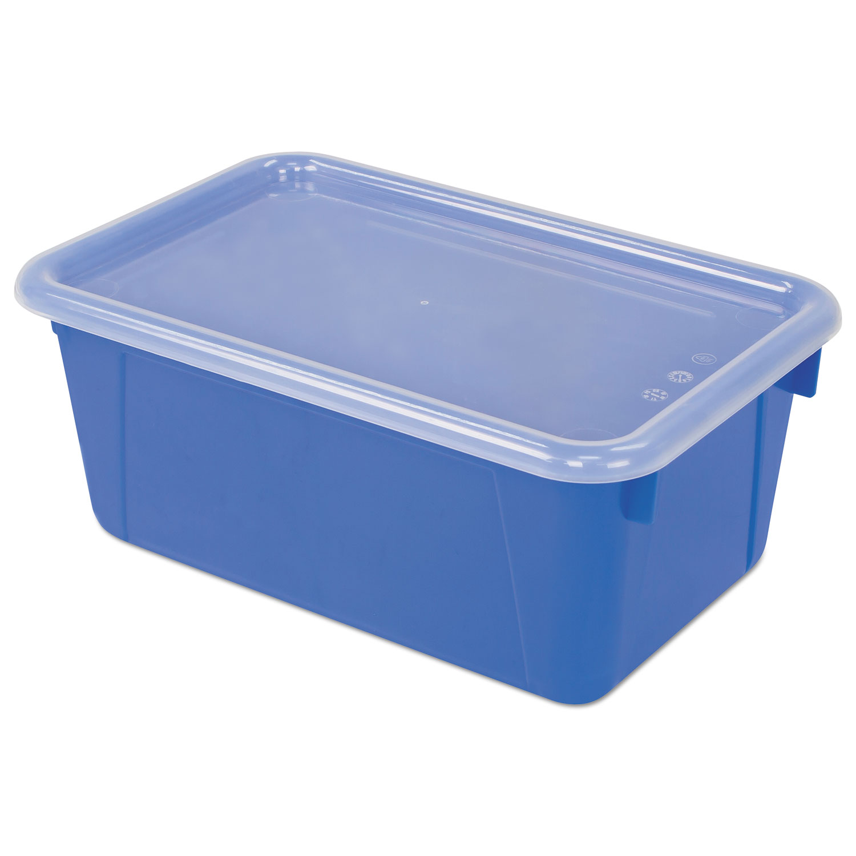 Cubby Bins, 12.25 x 7.75 x 5.13, Blue, 6/PK