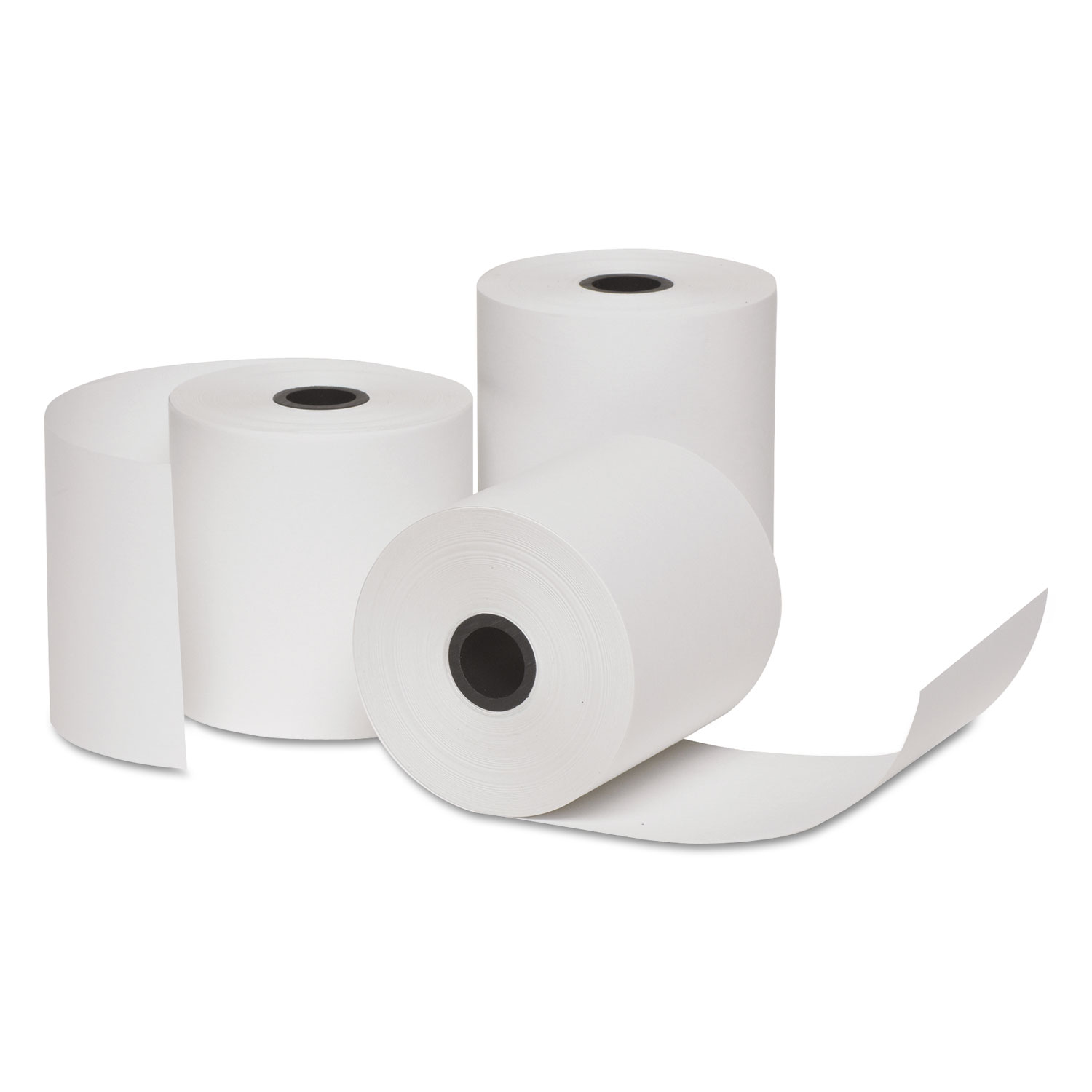 Deluxe Direct Thermal Printing Paper Rolls, 2 3/4 x 128 ft, 10 Rolls/PK