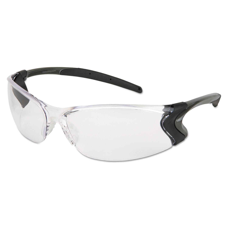 Backdraft Glasses, Clear Frame, Hard Coat Clear Lens