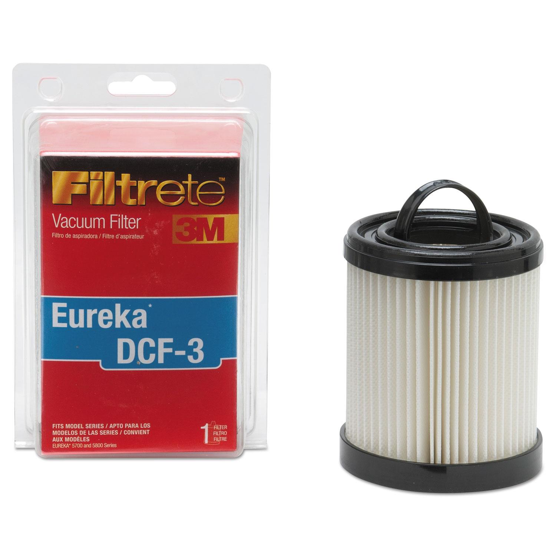 Dirt Cup Filter for Eureka Series 1000, 2/Carton