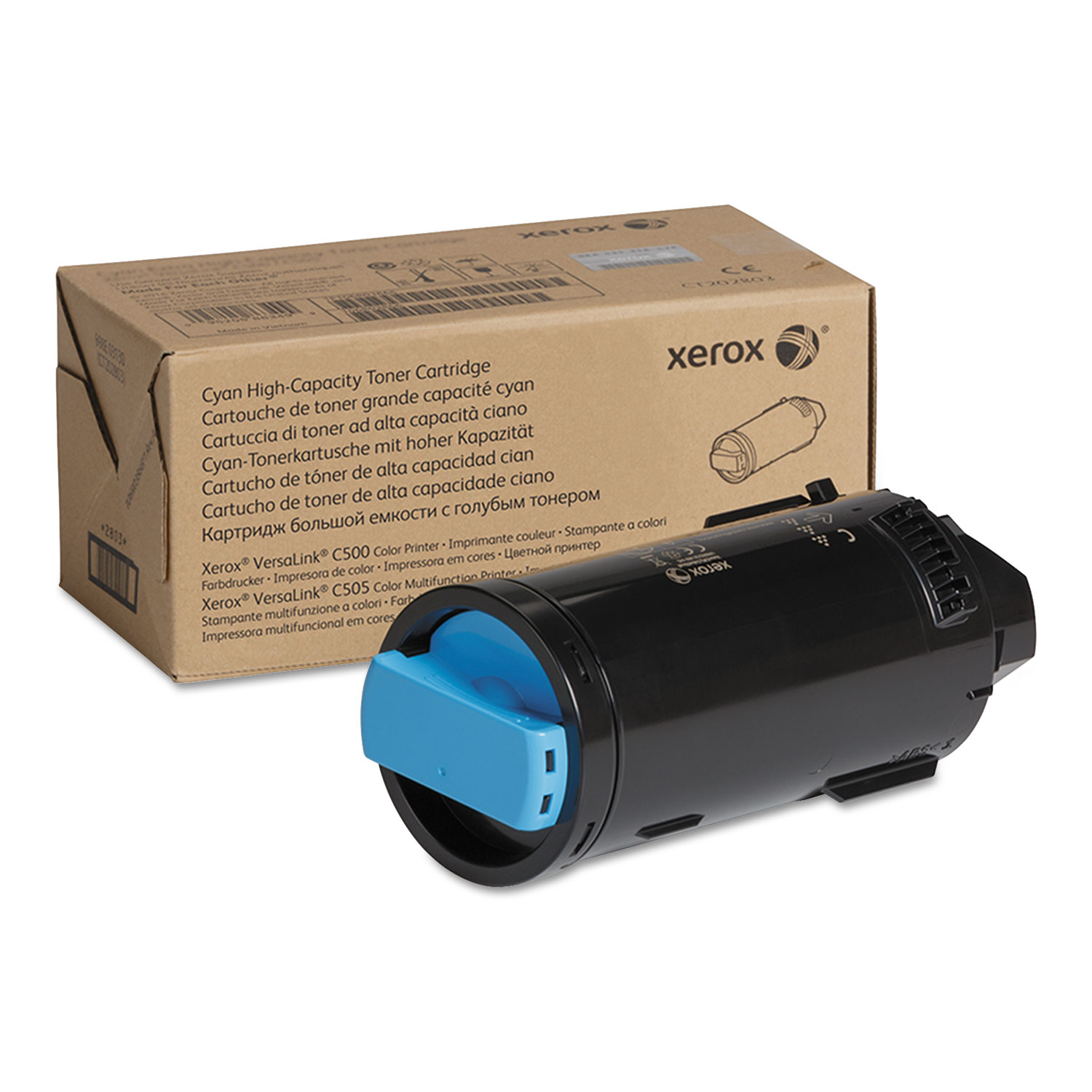 106R03863 High-Yield Toner, 5200 Page-Yield, Cyan