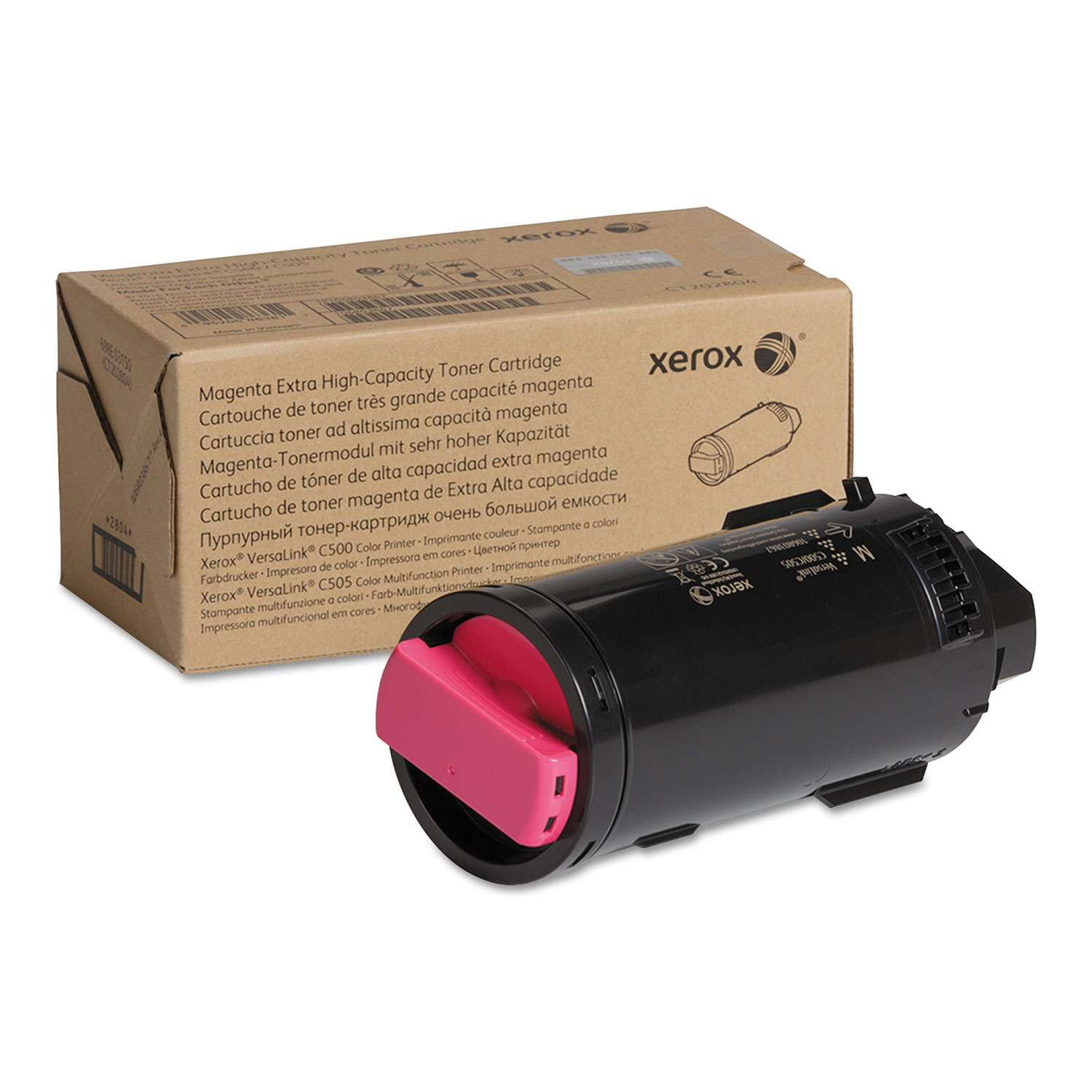 106R03867 Extra High-Yield Toner, 9000 Page-Yield, Magenta