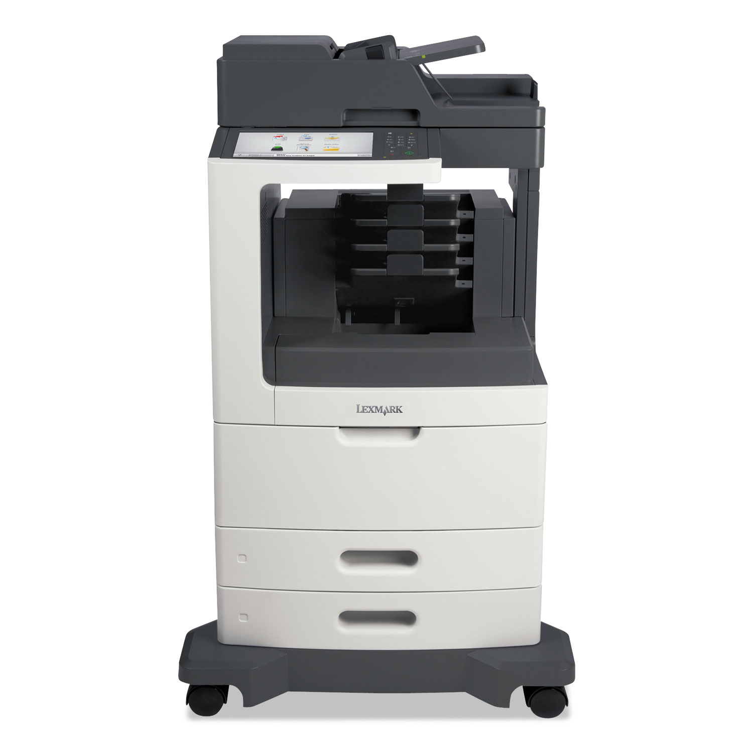 MX810dme Multifunction Laser Printer, Copy/Fax/Print/Scan