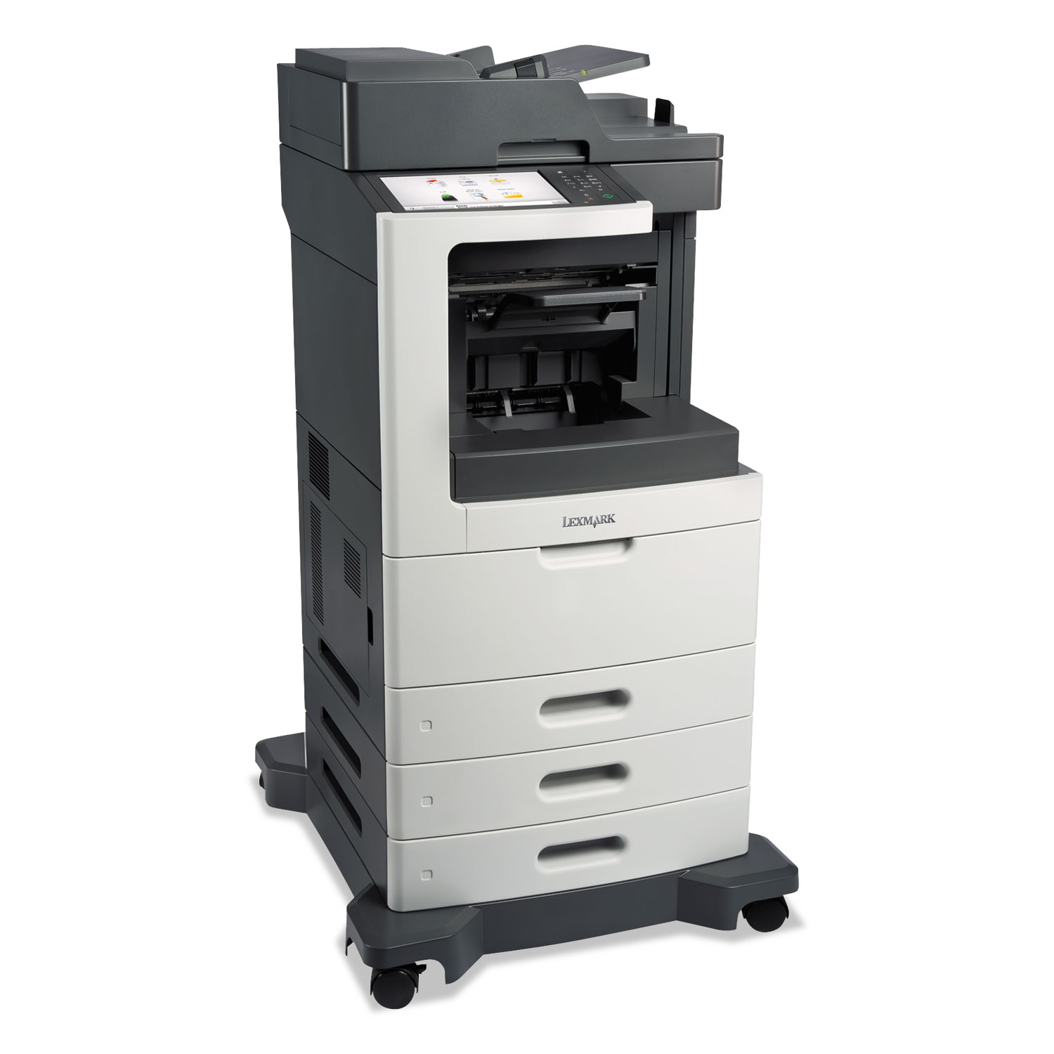 MX810dtfe Multifunction Laser Printer, Copy/Fax/Print/Scan