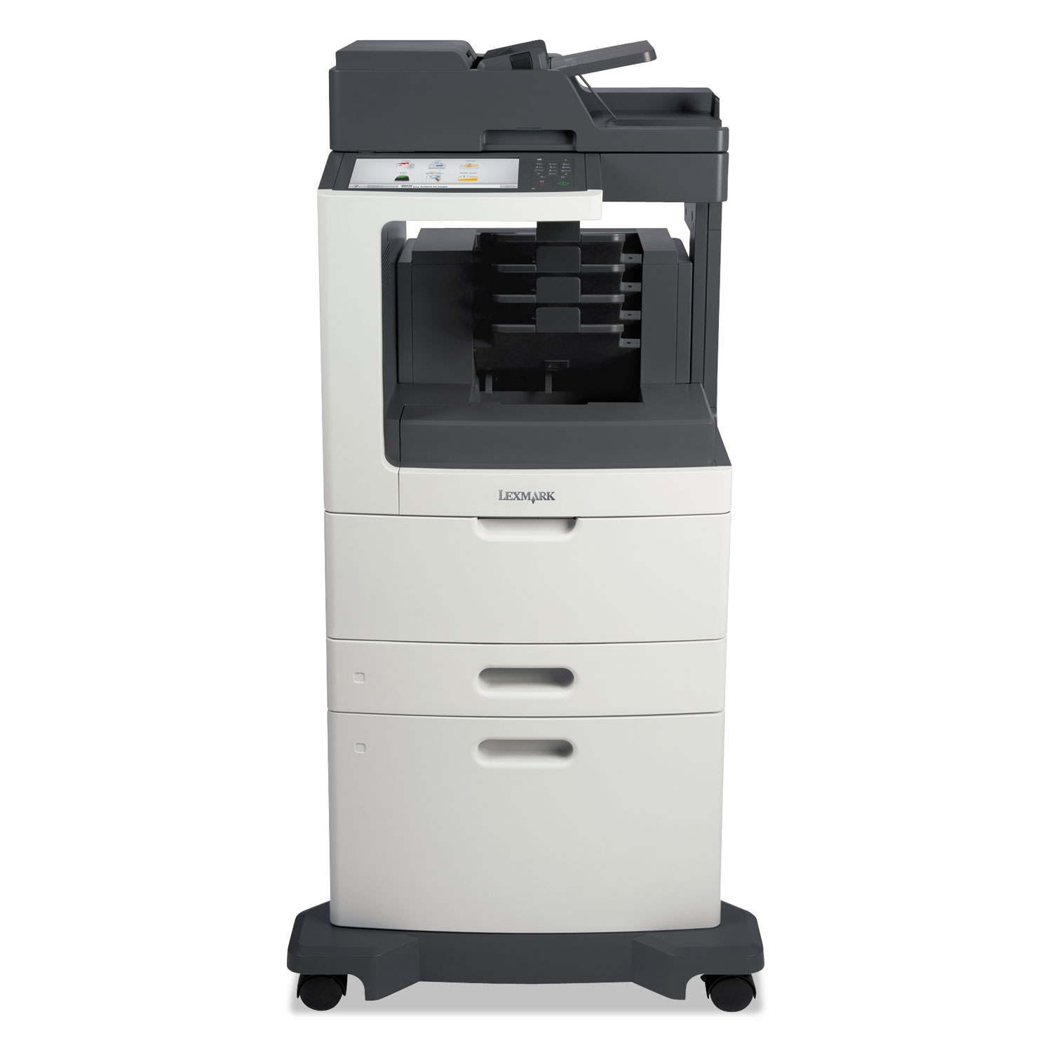 MX810dxme Multifunction Laser Printer, Copy/Fax/Print/Scan