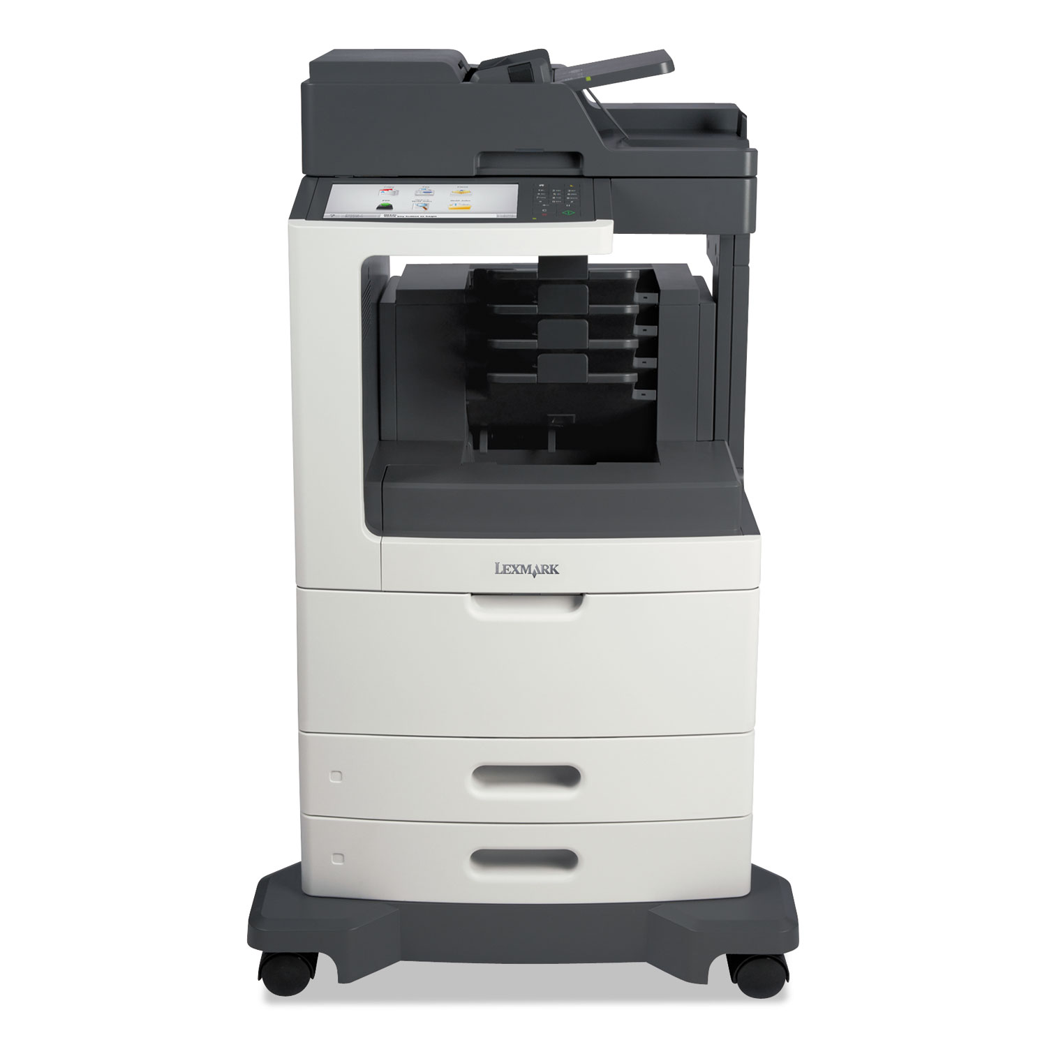 MX811dme Multifunction Laser Printer, Copy/Fax/Print/Scan