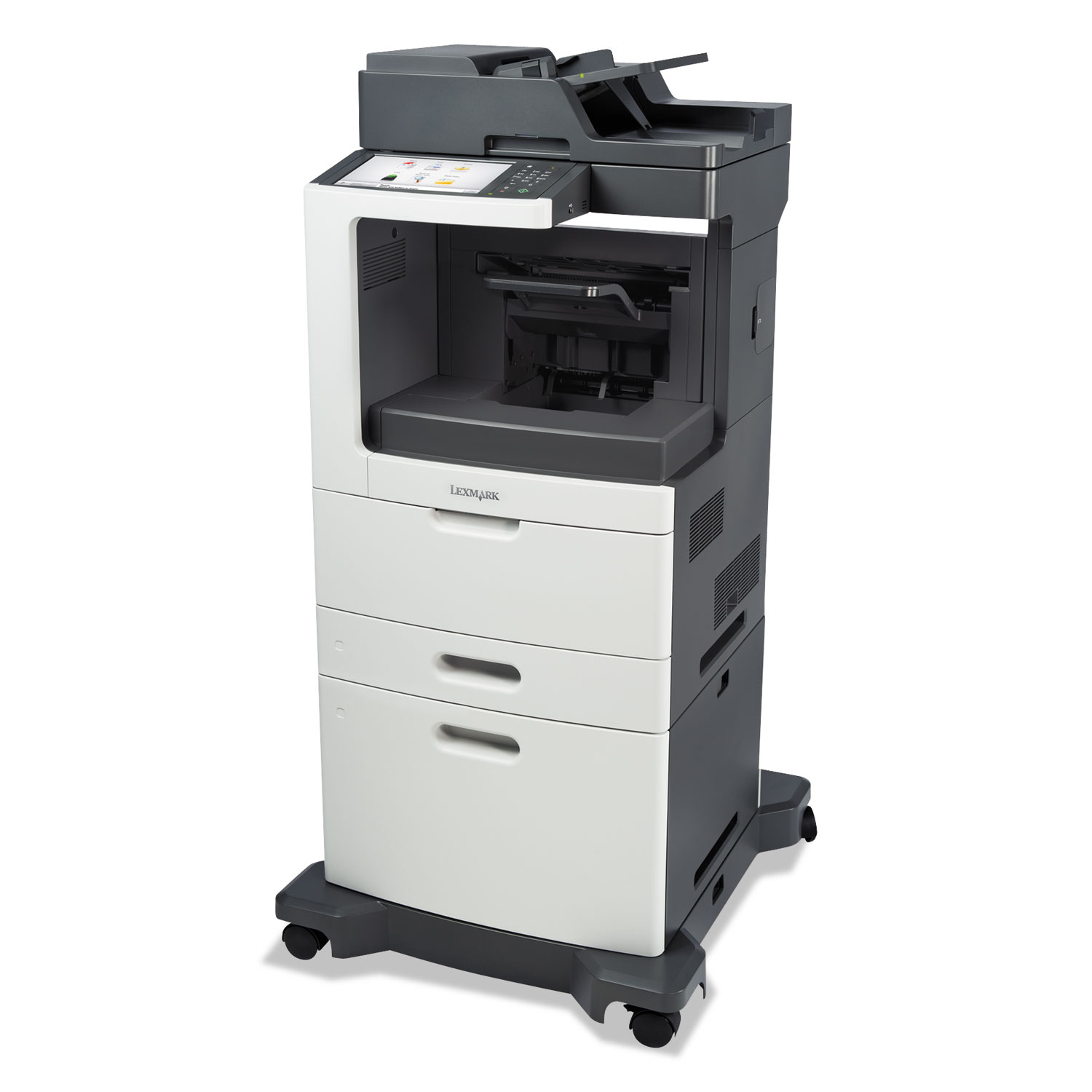 MX811dxe Multifunction Laser Printer, Copy/Fax/Print/Scan