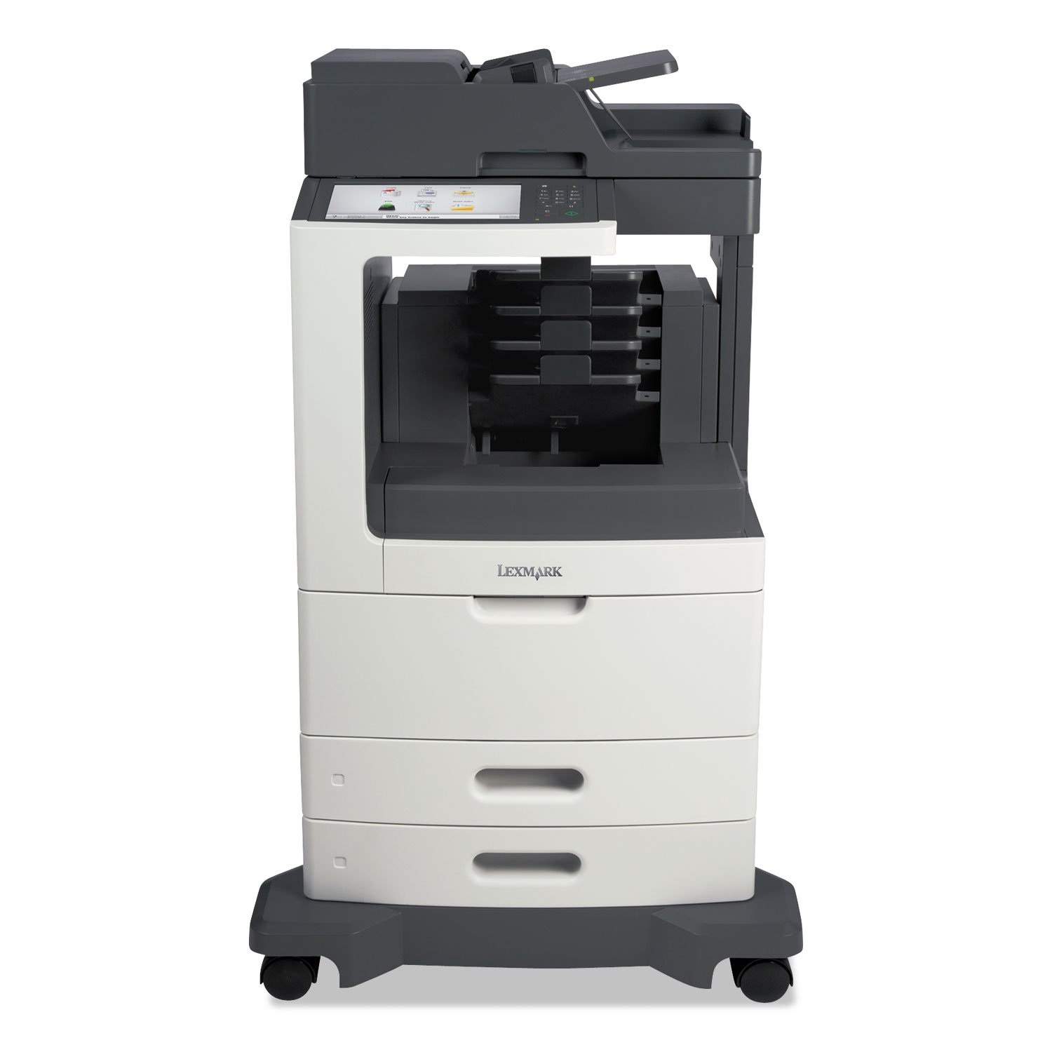 MX812dme Multifunction Laser Printer, Copy/Fax/Print/Scan