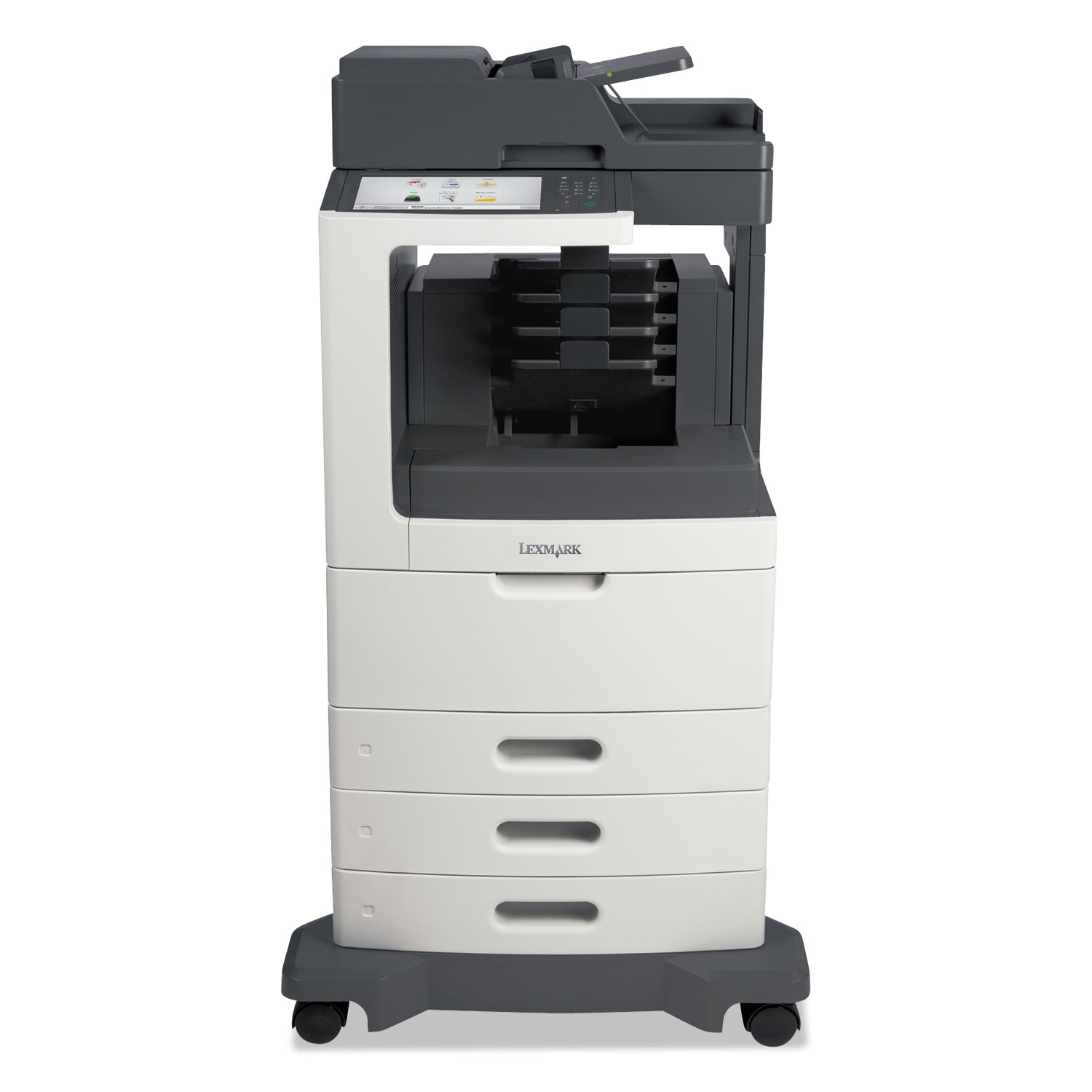MX812dtme Multifunction Laser Printer, Copy/Fax/Print/Scan