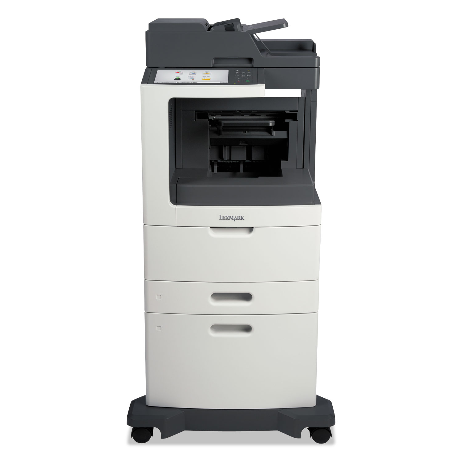MX812dxfe Multifunction Laser Printer, Copy/Fax/Print/Scan