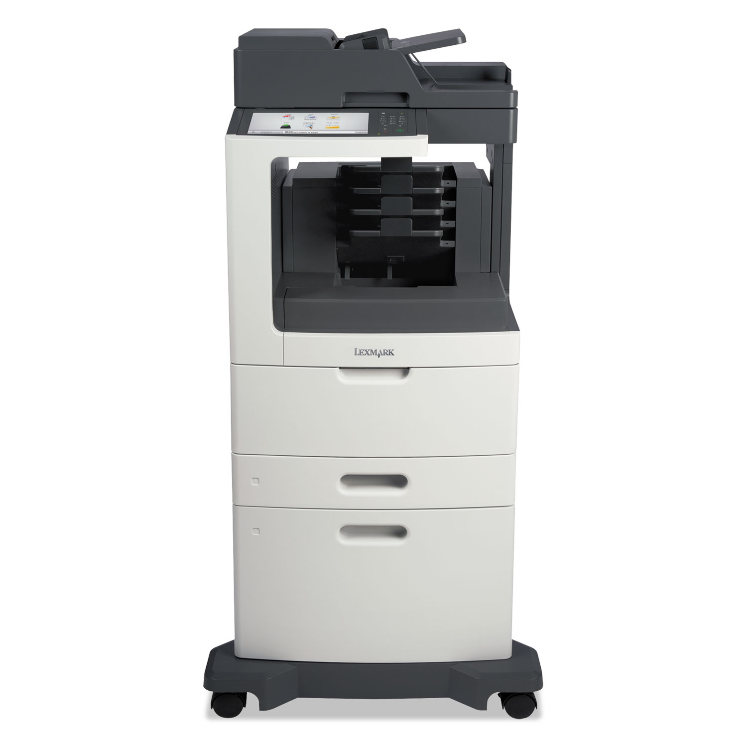 MX812dxme Multifunction Laser Printer, Copy/Fax/Print/Scan