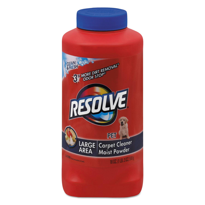 Pet Carpet Cleaner Moist Powder By Resolve 174 Rac82652ea