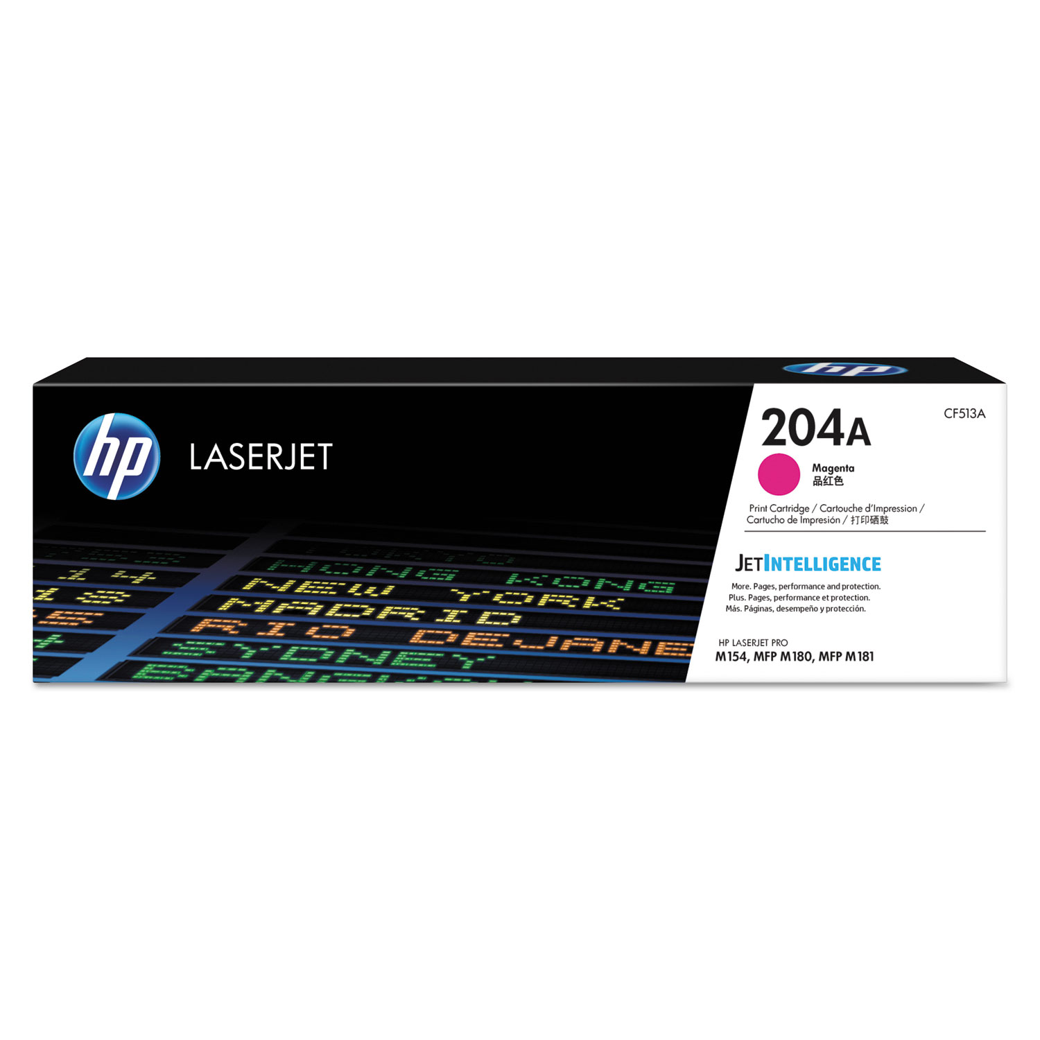 HP 204A, CF513A Magenta Original LaserJet Toner Cartridge