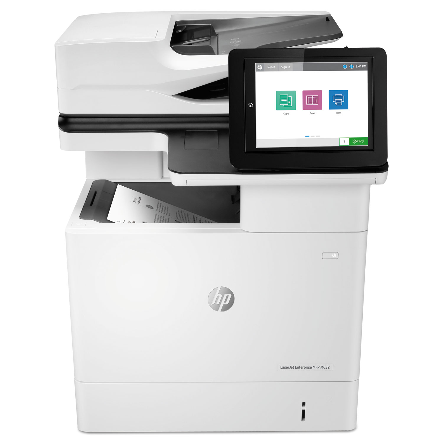 LaserJet Enterprise MFP M632h, Copy/Print/Scan