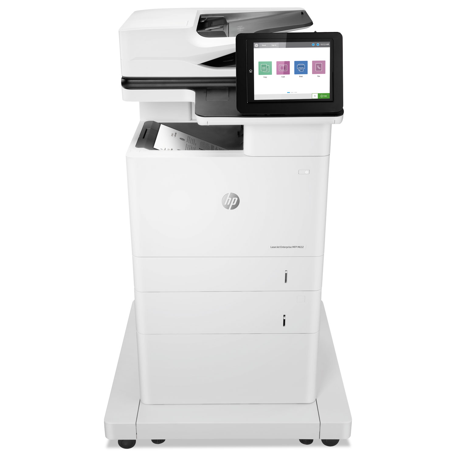 LaserJet Enterprise MFP M632fht, Copy/Fax/Print/Scan