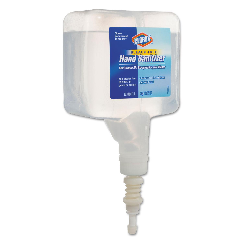 Hand Sanitizer Touchless Dispenser Refill, 1 Liter, 4/Carton