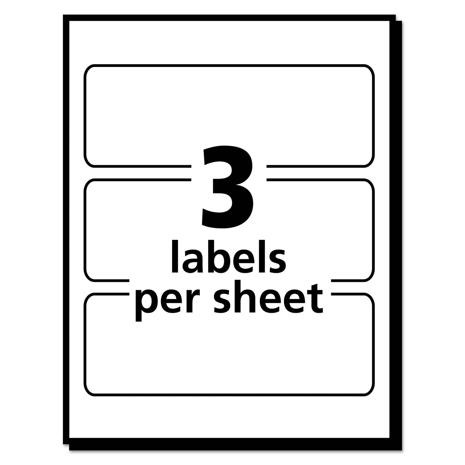 Removable multi use labels by avery ave05440 ontimesupplies removable multi use labels 1 12 x 3 white 150pack pronofoot35fo Gallery