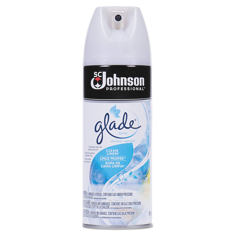 Air Freshener, Clean Linen, 13.8 oz, 12/Carton