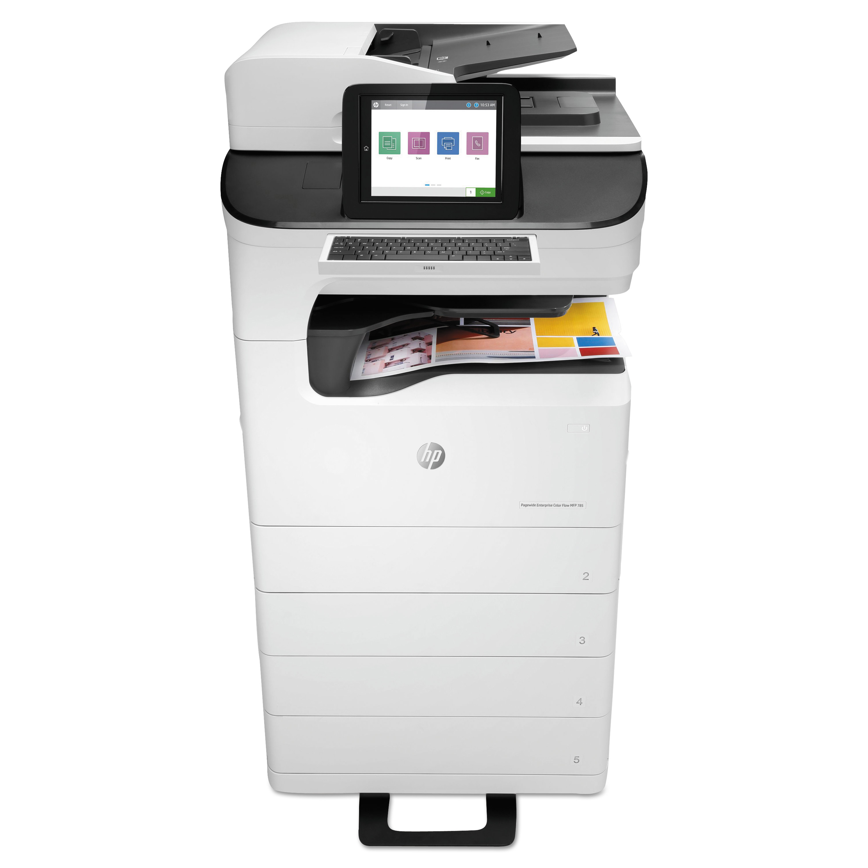 PageWide Enterprise Color Flow MFP 785zs, Copy/Fax/Print/Scan