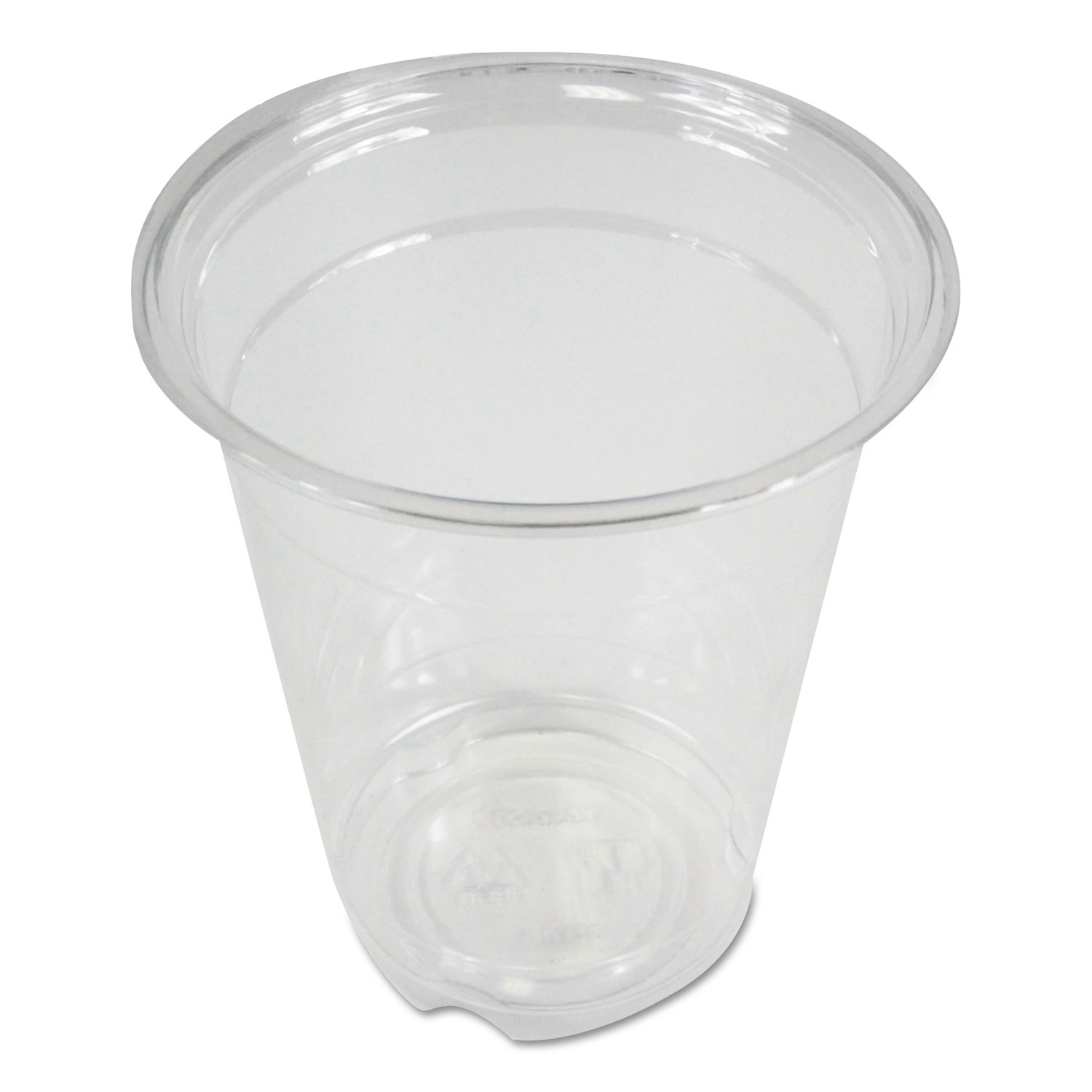 Clear Plastic Cold Cups, 12 oz, PET, 20 Cups/Sleeve, 50 Sleeves/Carton