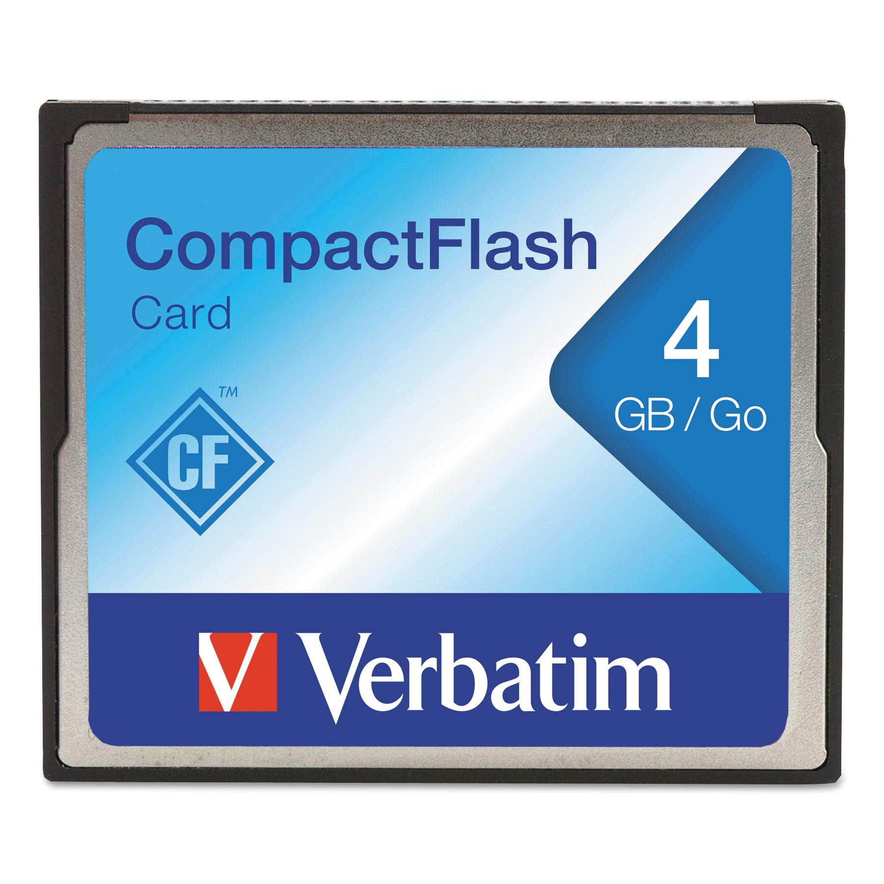4GB CompactFlash Memory Card Class 4