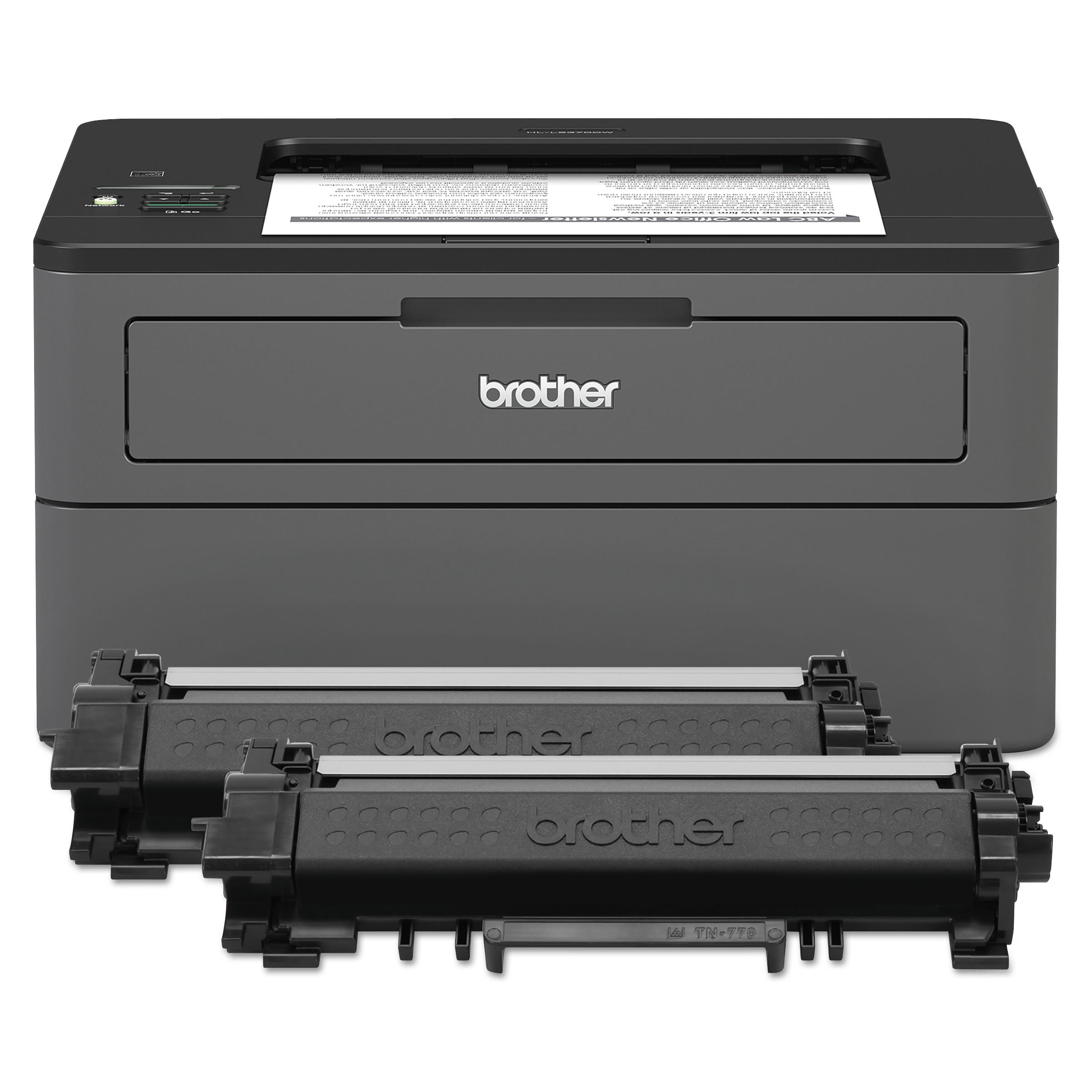 HL-L2370DWXL Wireless Laser Printer