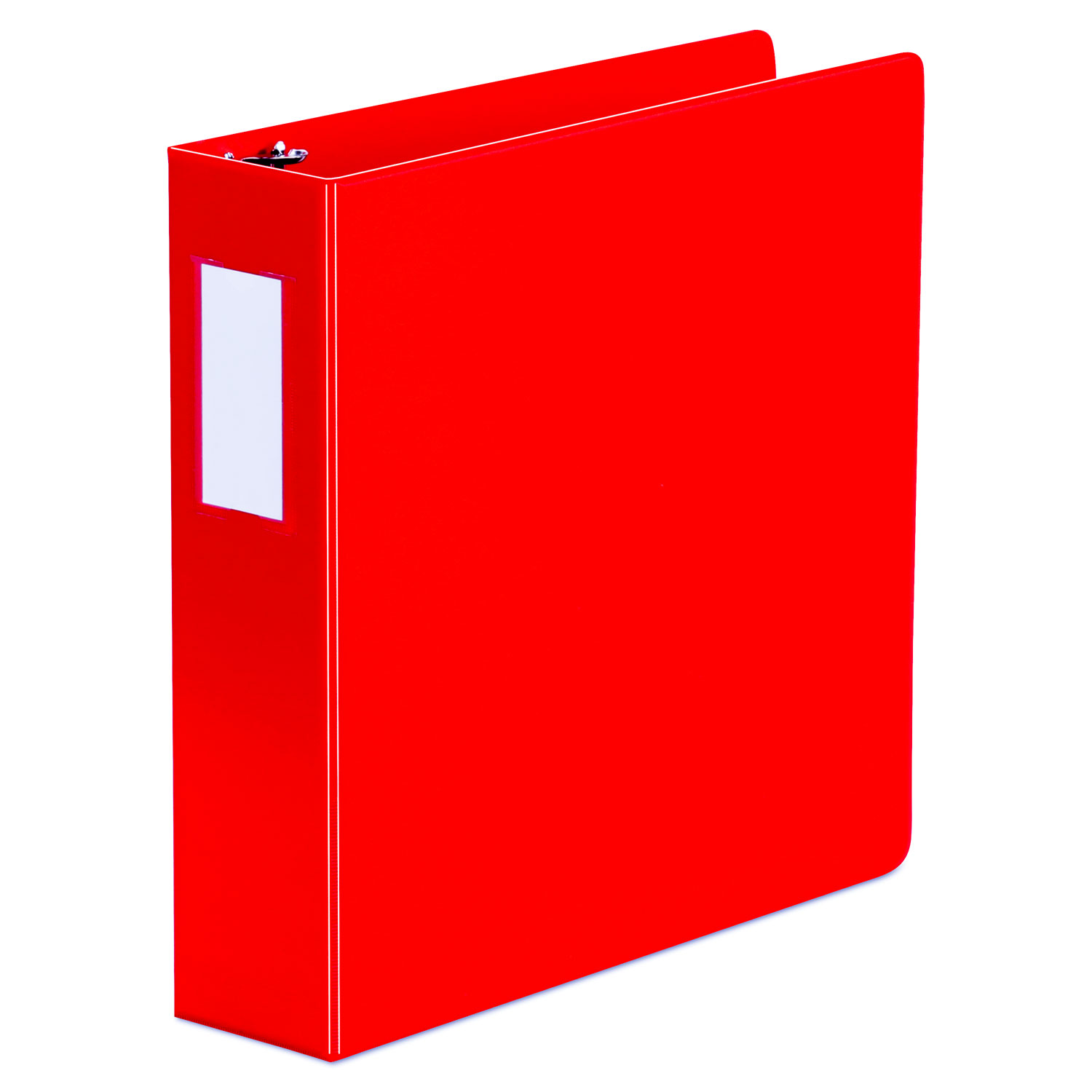 Deluxe Non-View D-Ring Binder With Label Holder, 3 Rings