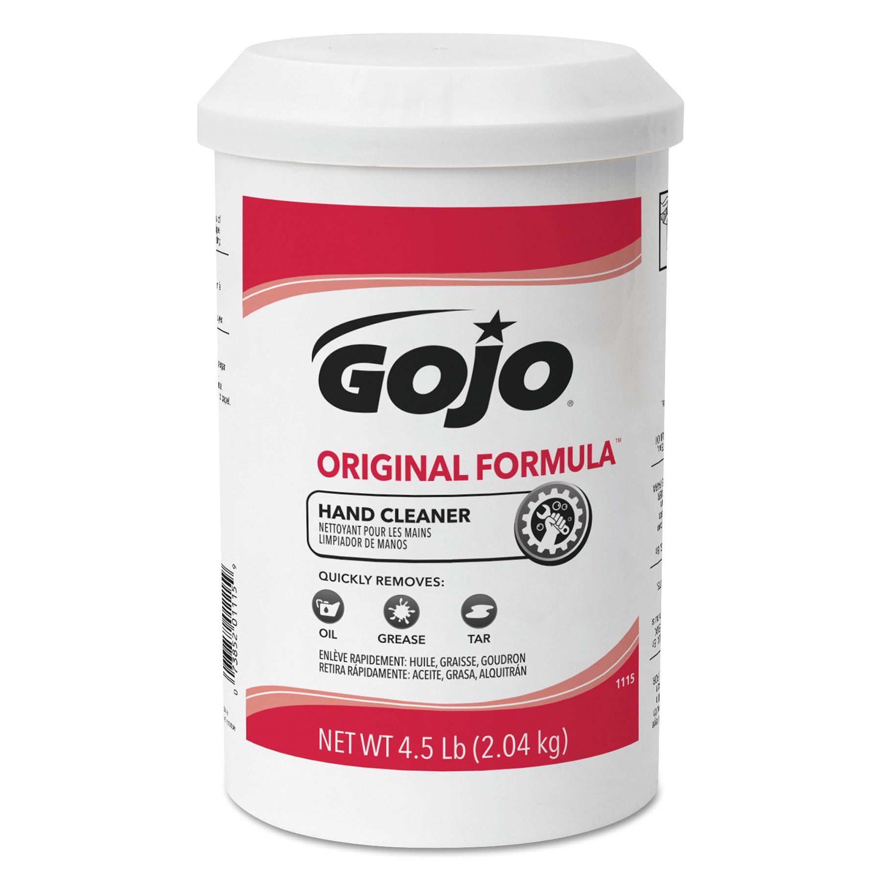 ORIGINAL FORMULA Hand Cleaner, 4.5 lb, White, 6/Carton