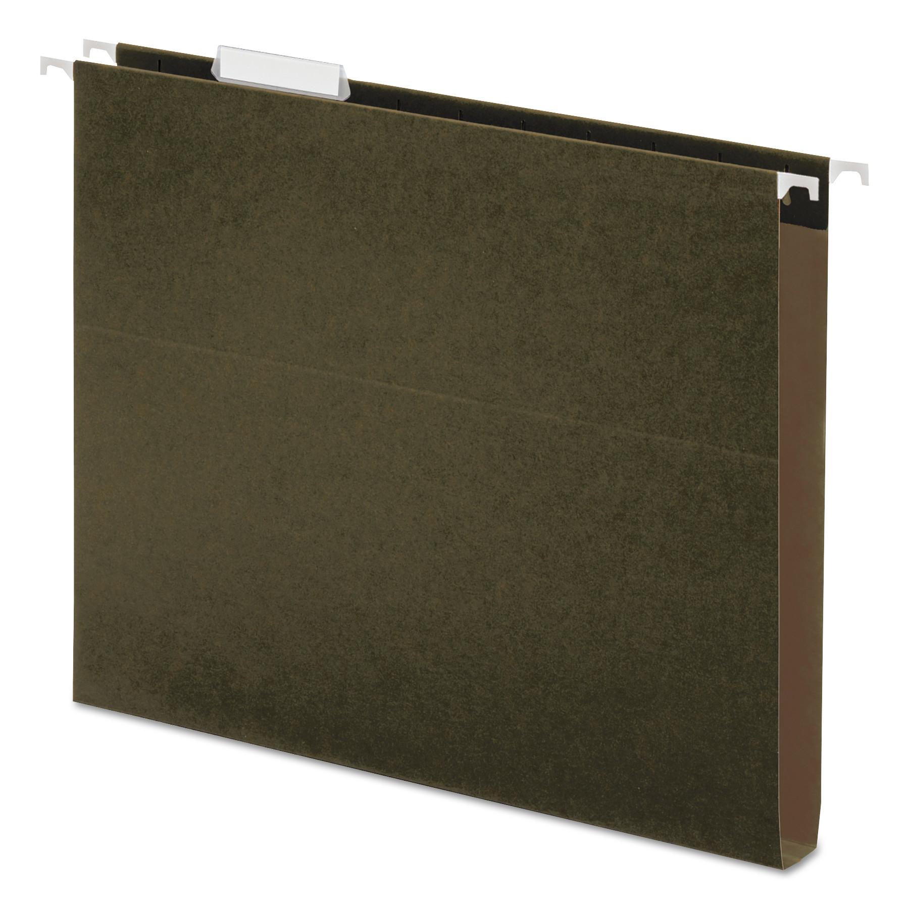 Box Bottom Hanging File Folders Letter Size 1 5 Cut Tab