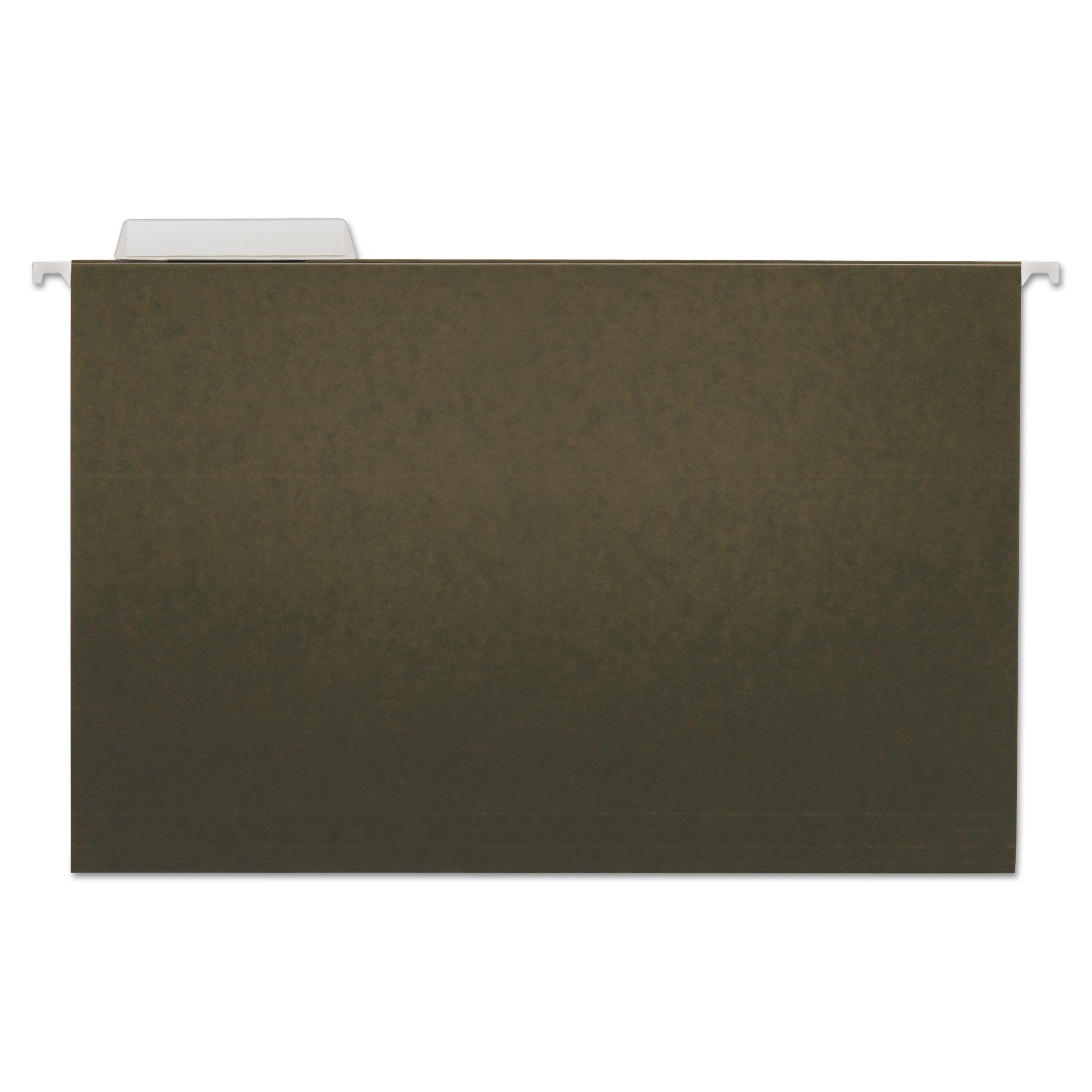 Hanging File Folders, Legal Size, 1/3-Cut Tab, Standard Green, 25/Box