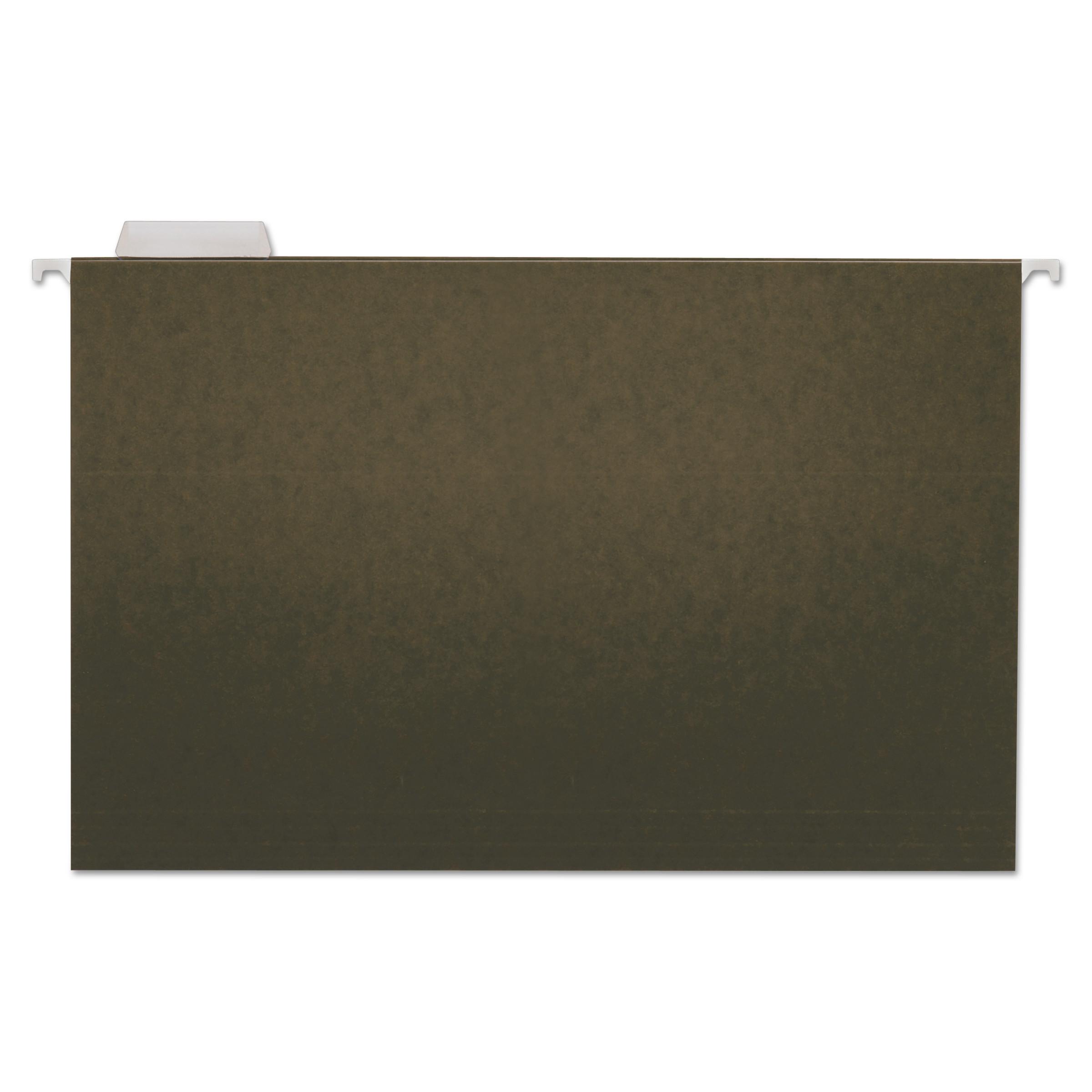 UNV42215 Universal Hanging File Folder Plastic Index Tabs 1-Pack