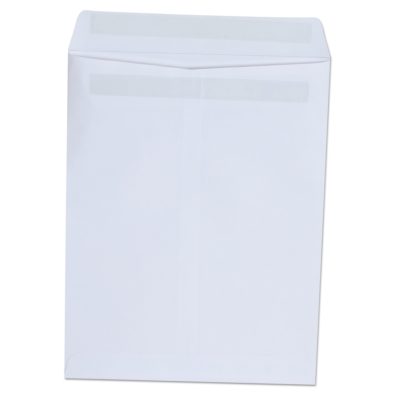 Self Seal Catalog Envelope, 9 X 12, White, 100/Box