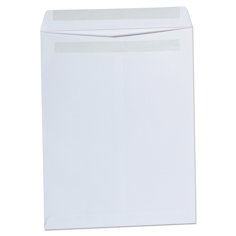 Self Seal Catalog Envelope, 10 X 13, White, 100/Box