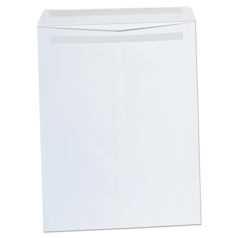 Self Seal Catalog Envelope, 12 X 15 1/2, White, 100/Box