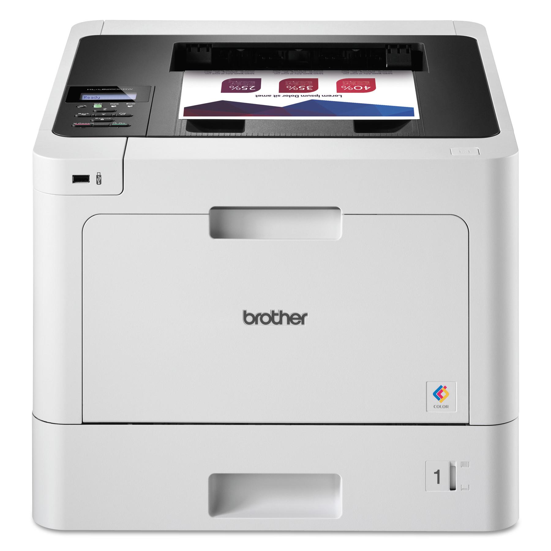 HL-L8260CDW Business Color Wireless Laser Printer, Duplex Printing