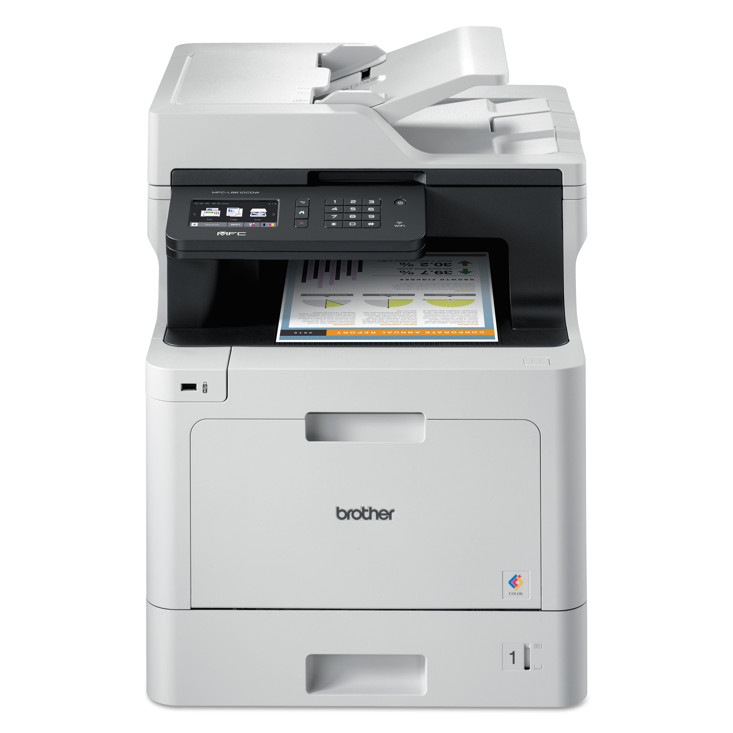 MFC-L8610CDW Business Color Laser All-in-One, Copy/Fax/Print/Scan