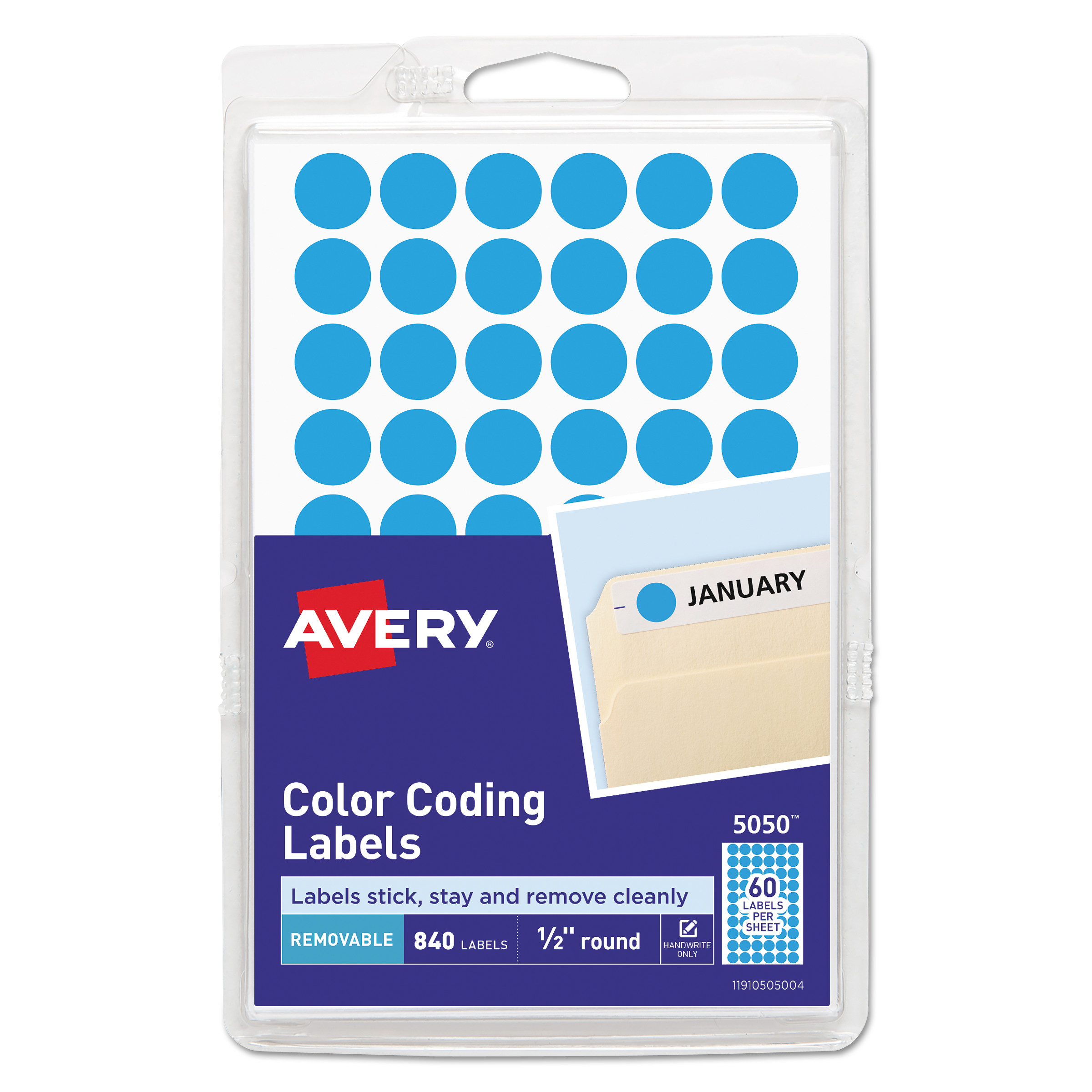 4 Sheets of 35 Round FLOURESCENT RED Sticky Labels x 140-13mm Diameter