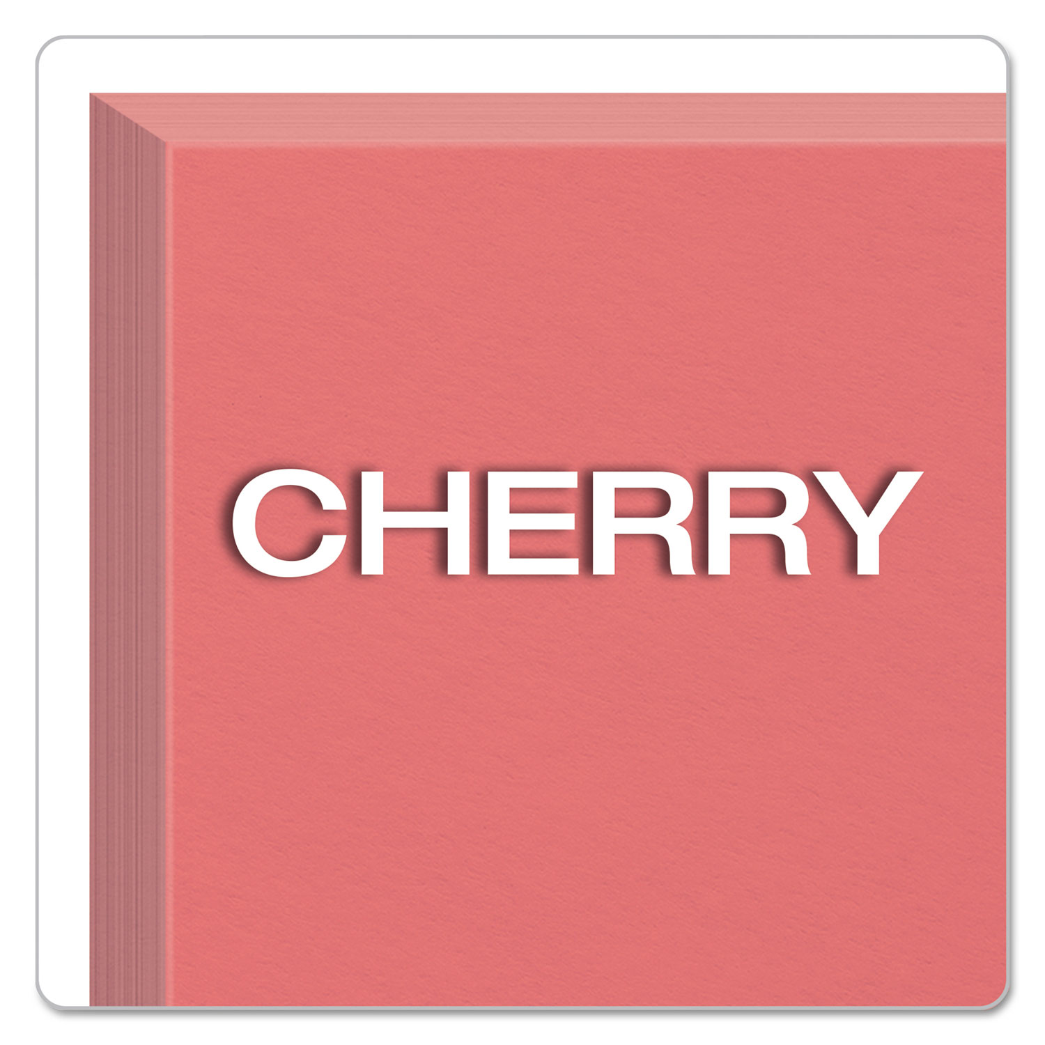 Oxford Unruled Index Cards 3 x 5 100//Pack 078787730113 Cherry