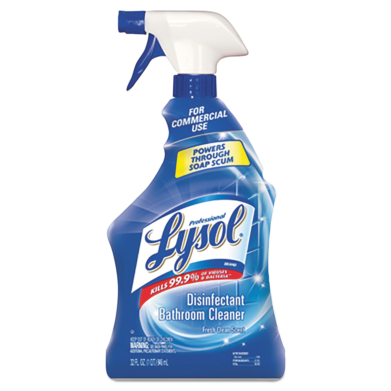 Disinfectant Bathroom Cleaner, 32oz Spray Bottle