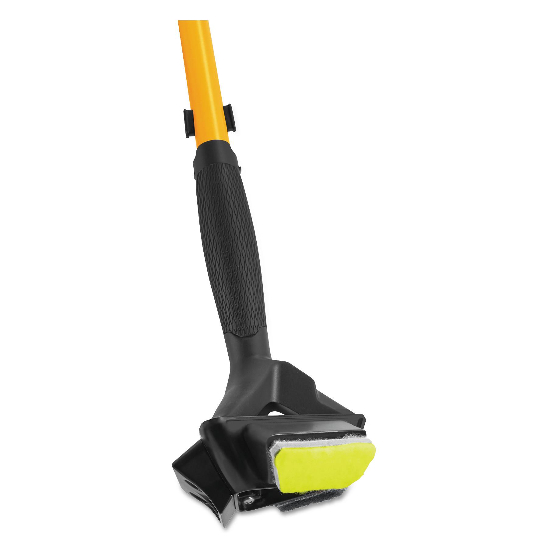 """Maximizer 3-in-1 Floor Prep Scuff Remover Pad, 2.62"""" x 1.37"""" x 0.5"""", Yellow"""