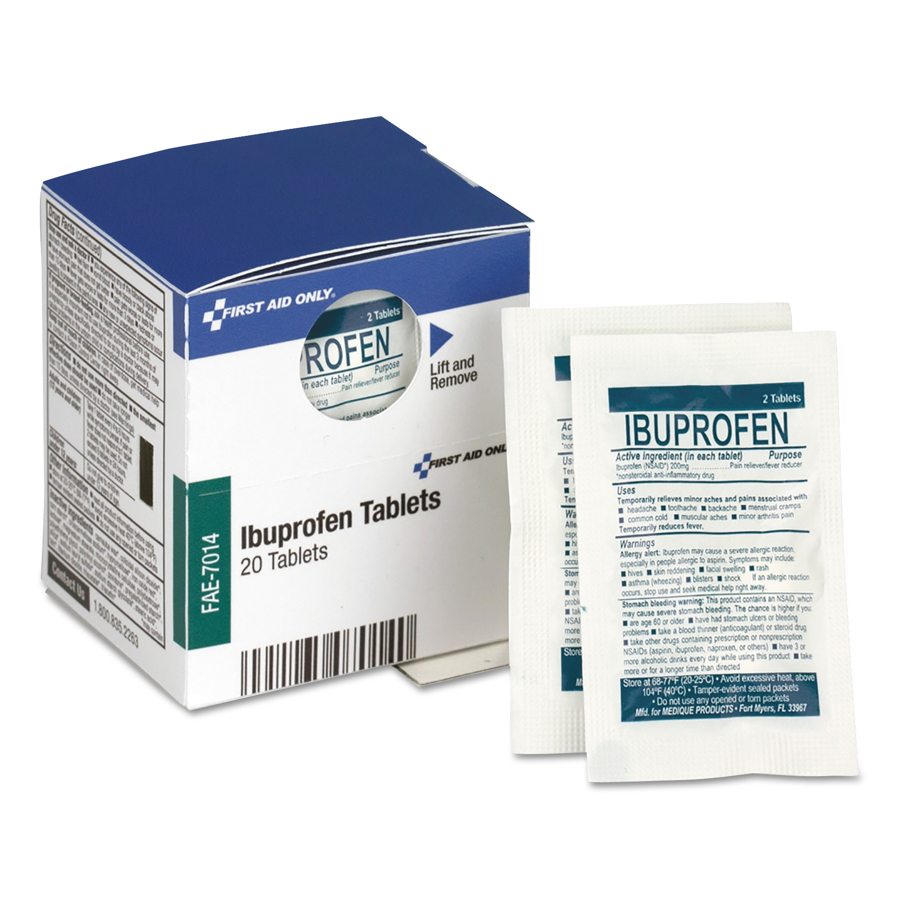 Over the Counter Pain Relief Medication for First Aid