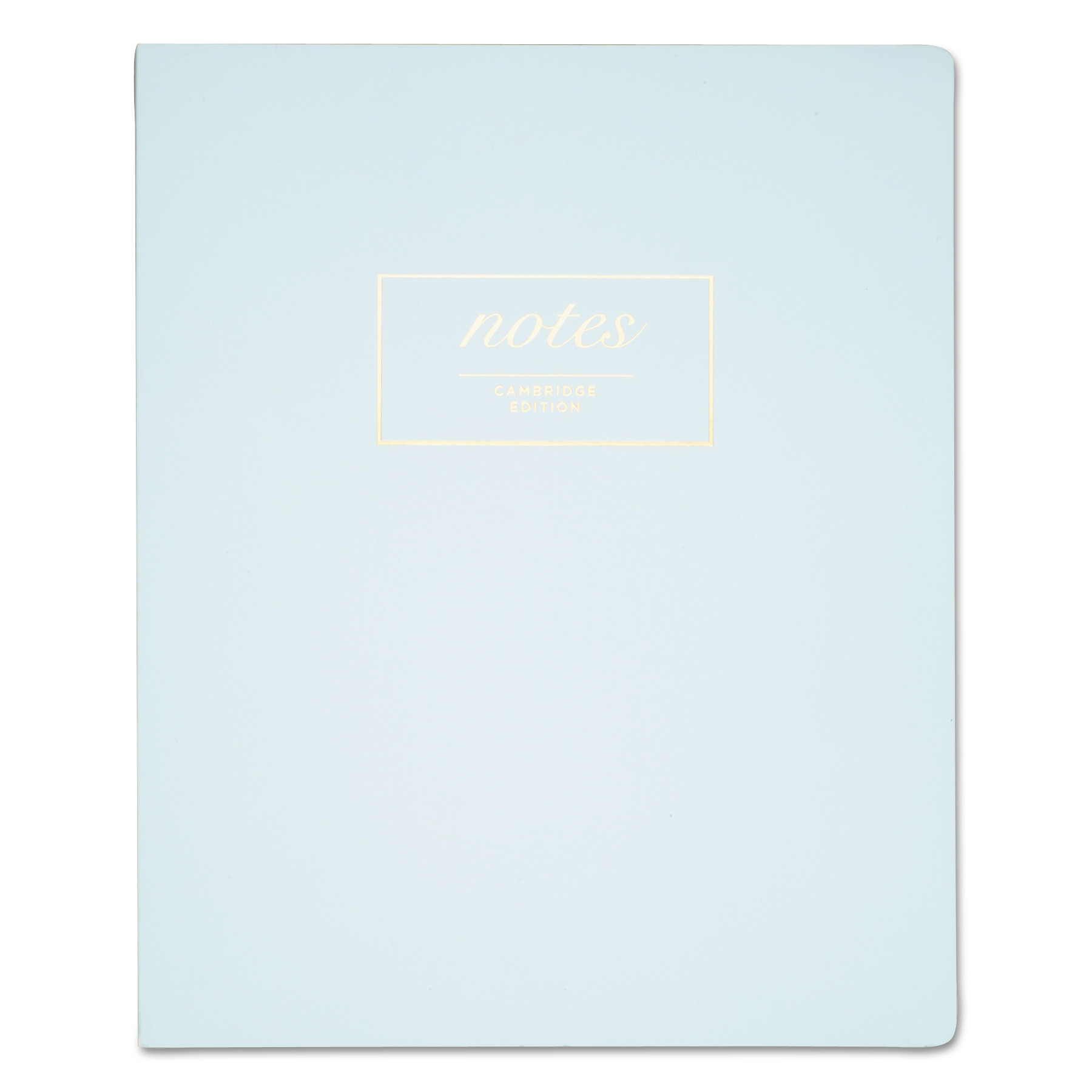 Workstyle Notebook, Legal Rule, Aqua Cover, 7 1/4 x 9 1/2, Perforated, 80 Pages