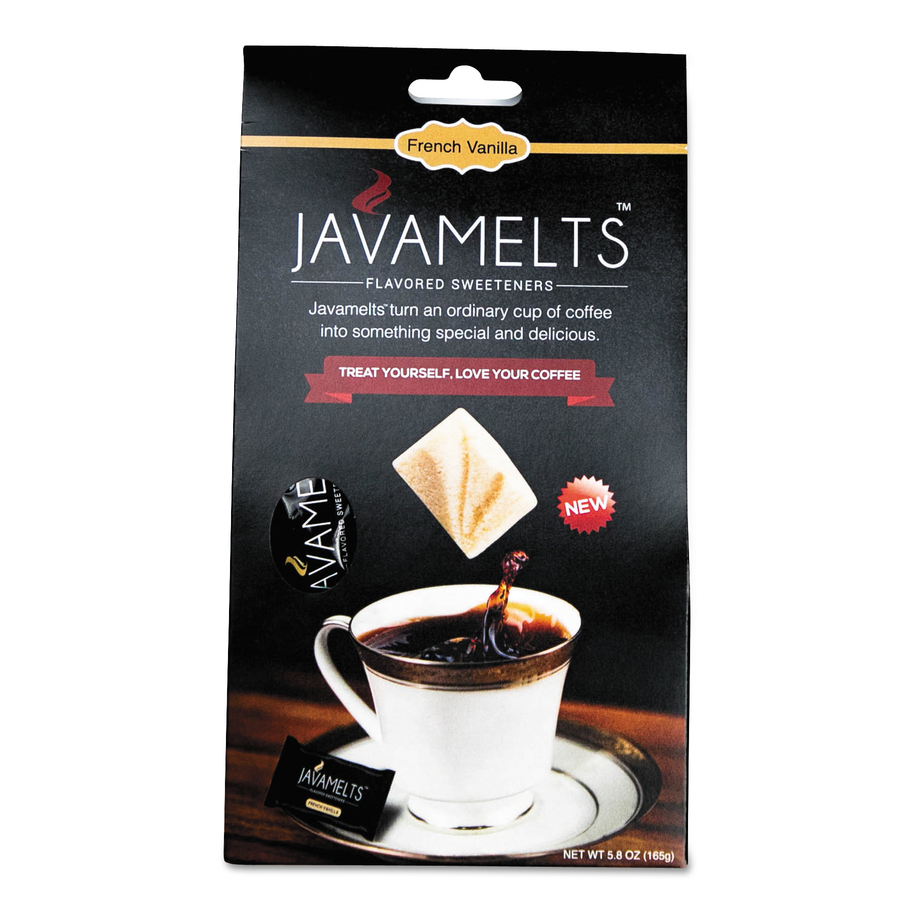 Sweeteners, 0.34 oz Box, French Vanilla