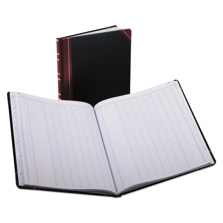Boorum /& Pease Columnar Book Quadrille Rule 300 Pages Black 10 3//8 x 8 1//8