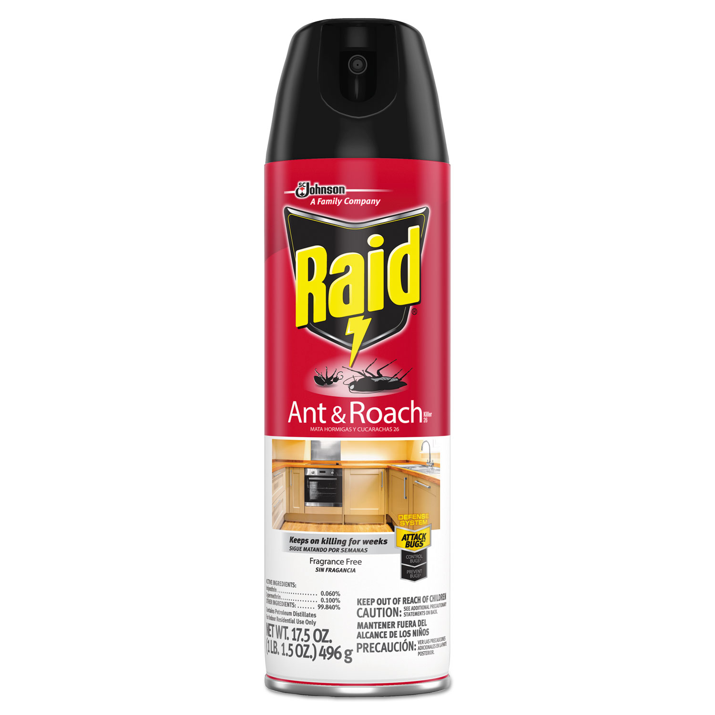 Fragrance Free Ant & Roach Killer, 17.5 oz Aerosol Can, 12/Carton