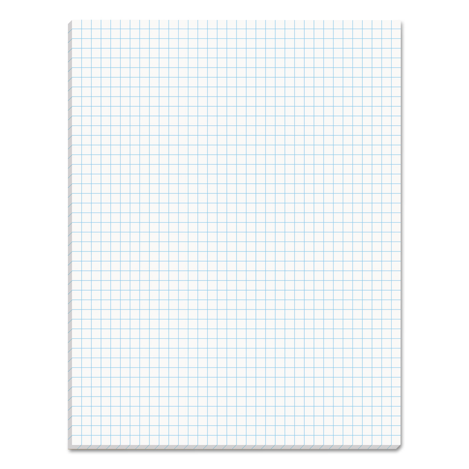tops products quadrille pads  4 squares  inch  8 1  2 x 11