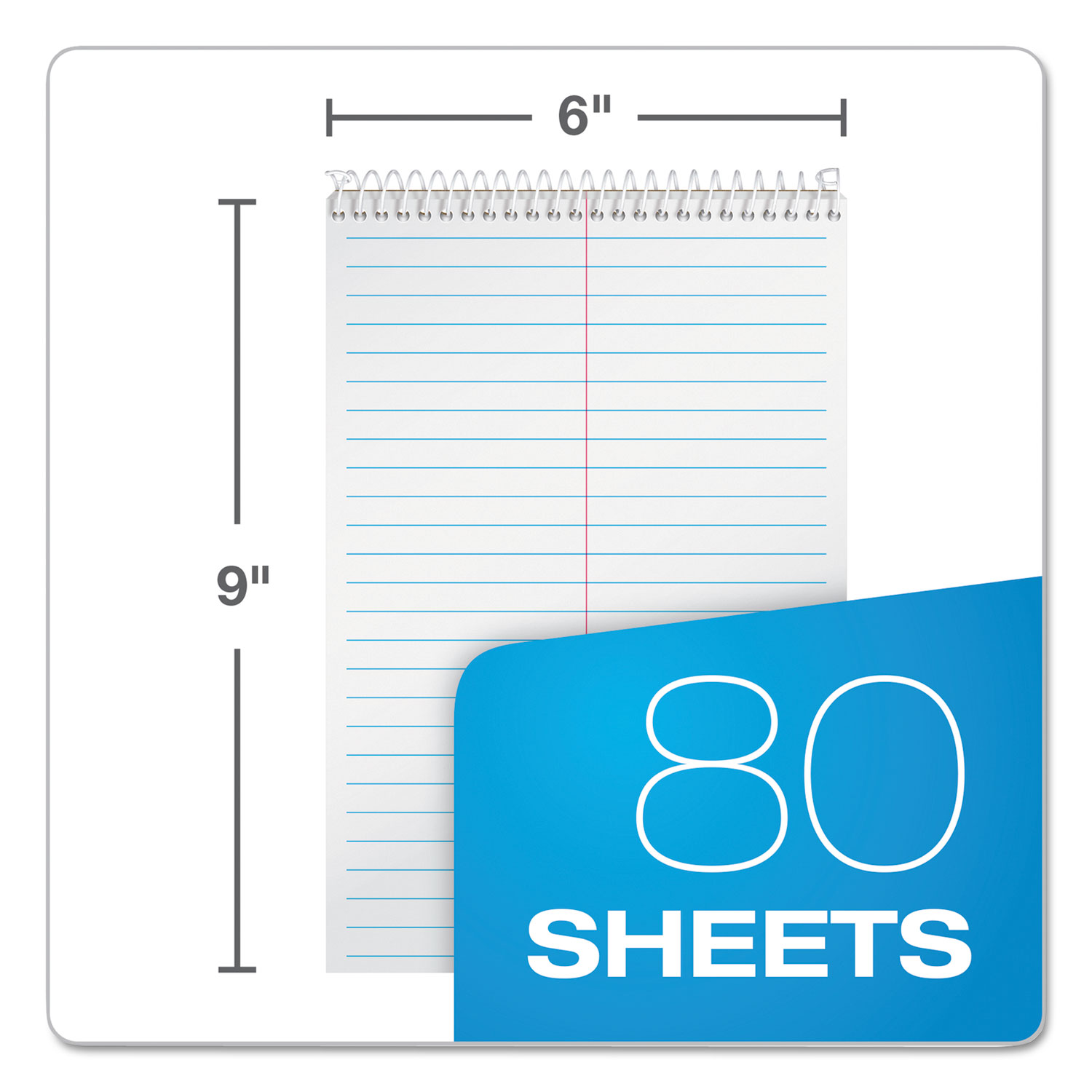 Steno Book w/Assorted Colored Covers by TOPS™ TOP80220 ...
