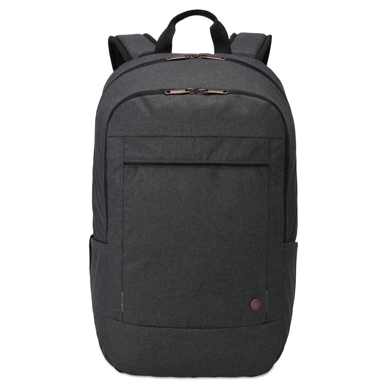 "Era 15.6"" Laptop Backpack, 9.1"" x 11"" x 16.9"", Gray"