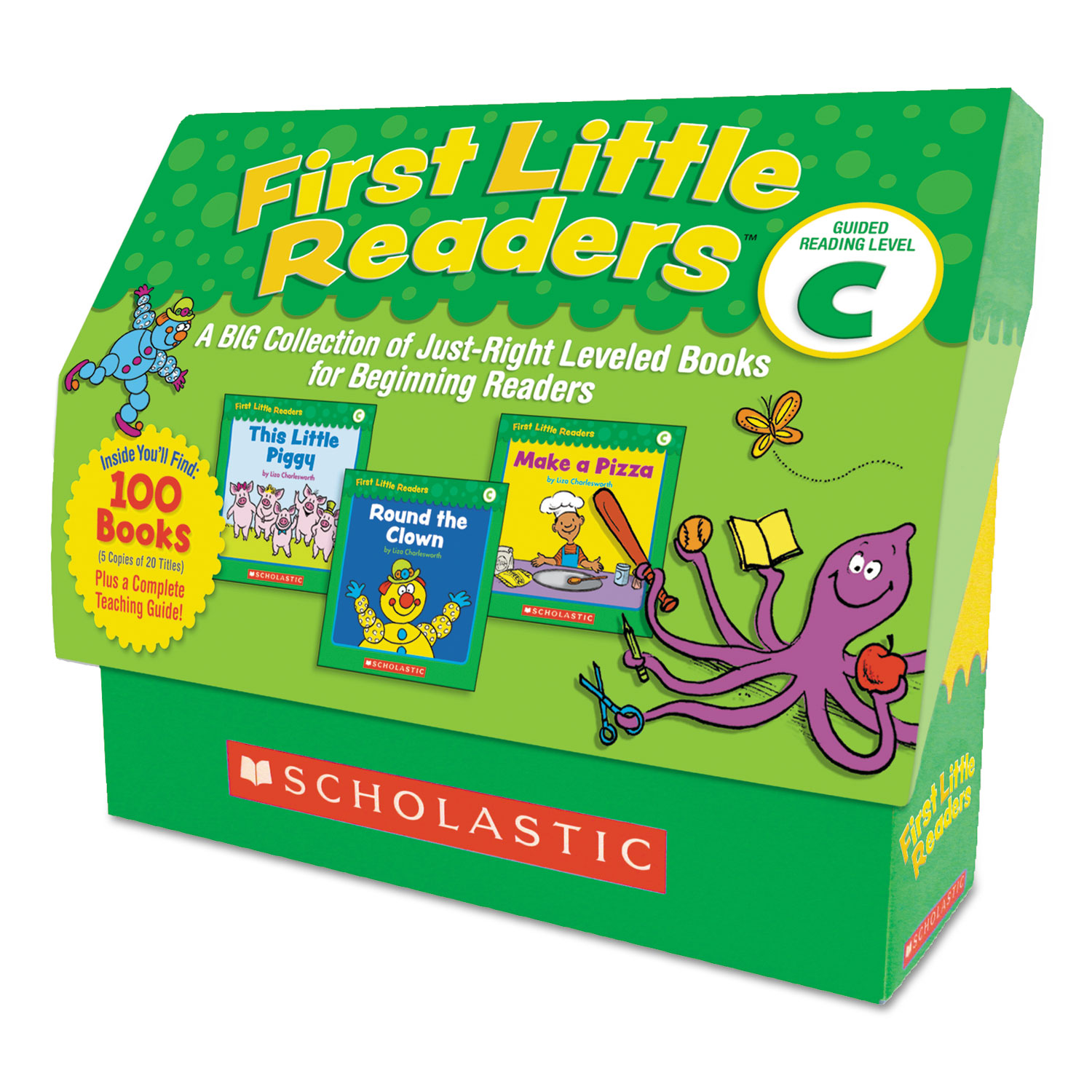 First Little Readers, Reading, Grades Pre K-2, 8 Pages/Book, 20 Books, Level C